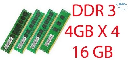 16GB RAM DDR3 PER DESK UPGRADE