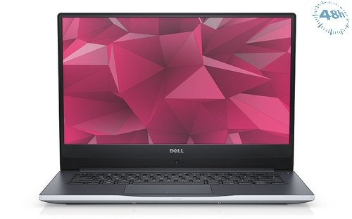"DELL Inspiron 14 2.70GHz i7-7500U 14"" 8GB 1TB+ 128 SSD –FULL HP 1920 x 1080 Nero, Argento Computer portatile-Windows 10 pro-garanzia 12 mesi"