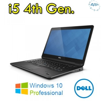 "DELL Latitude E5440 1.6GHz i5-4200U 14"" 8GB -256SSD 1366 x 768Pixel CON WINDOWS 7-10 PRO GARANZIA"