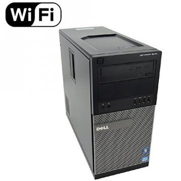 DELL OptiPlex 9020 3.3GHz i5-4590  Intel® Core™ i5 di quarta generazione Nero PC 8GB-500HD WIFI-WINDOWS 10 PRO-GARANZIA 12 MESI