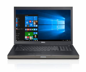 "DELL Precision M6800 -17"" notebooks (i7-4830Mx 3.80 GHZ (MAX TURBO) 16 GB- ( 2 X 8GB)  1 TB +256 SSD DVD±RW, DualPoint, 4GB SCHEDA VIDEO DEDICATA NVIDIA QUADRO K 4100 Windows 7-10 Professional, 64-biT Garanzia 12 mesi"