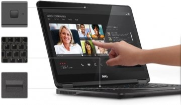 Dell Latitude 14 7000 E7440 14 Touchscreen Led Ultrabook - Intel Core  I7-4600u 2.10 Ghz 8GB-256SSD.WINDOWS 7/10 PRO 12 MESI