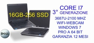"Dell Latitude 6430u - 14"" - Core i7 3687U - 16 GB RAM - 256 GB SSD-WINDOWS 7 PRO A 64 BIT"