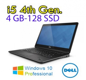 Dell Latitude E5440 Core i5-4300U 4.Gen 2.9 GHz MAX TURBO  4Gb 128 SSD  WEBCAM-WIFI W7 HDMI- Garanzia 12 mesi
