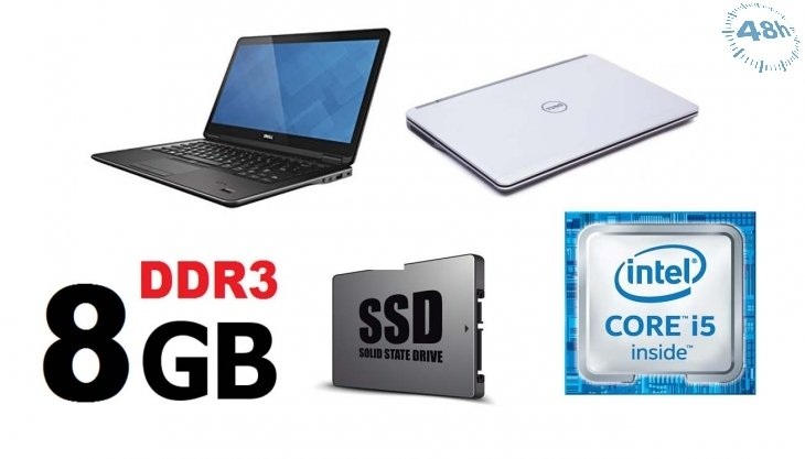 Dell Latitude E7440 Intel Core i5-4300U -WIFI-WEBCAM   8 GB -256 SSD - 4 Generazione-WINDOWS 7-10-GARANZIA 12 MESI