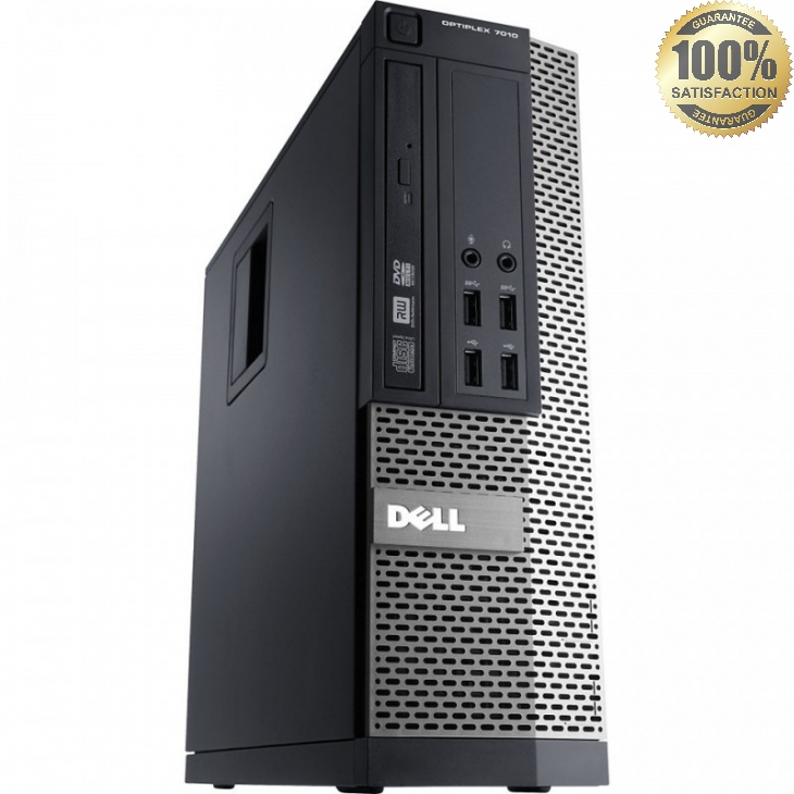 Dell OptiPlex 790 SFF Desktop Intel Core i3-2120 3.3GHz 4GB DDR3 RAM 250GB HD DVD Windows 7 Professional 64-bit