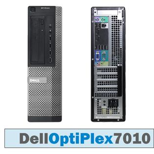 Dell Optiplex 7010 SFF Core i5-3470 3.2GHz 4Gb 240 SSD (NUOVO)  DVDRW WIFI USB Windows 10 Professional GARANZIA 12 MESI