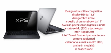 Dell XPS L321X Core i5-2467M 2.3 GHz Turbo -4GB 128 SSD  TASTIERA RETROILLUMINATA