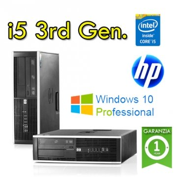 Desktop HP 8300 SFF Intel Core i5-3570 3,40GHz 4GB Ram 320GB HDD DVD-RW  Win 10 Pro