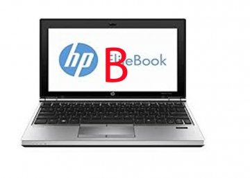 "HP EliteBook 2170p ( GRADO B ) 2.8GHz Max Turbo -I5-3427U 4 GB 320HD 11.6"" 1366 x 768Pixel Argento"