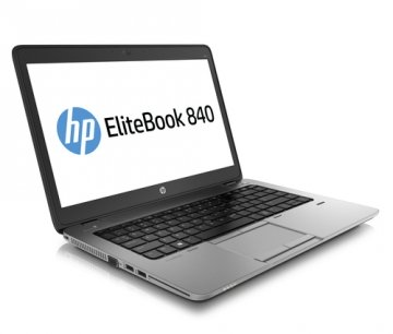 "HP EliteBook 840 G1  2.9GHz max turbo  i5-4300U 14"" 6 GB 1TB 1600 x 900Pixel Nero, Argento Computer portatile-WINDOWS 7 o 10 PRO-Garanzia 12 mesi"