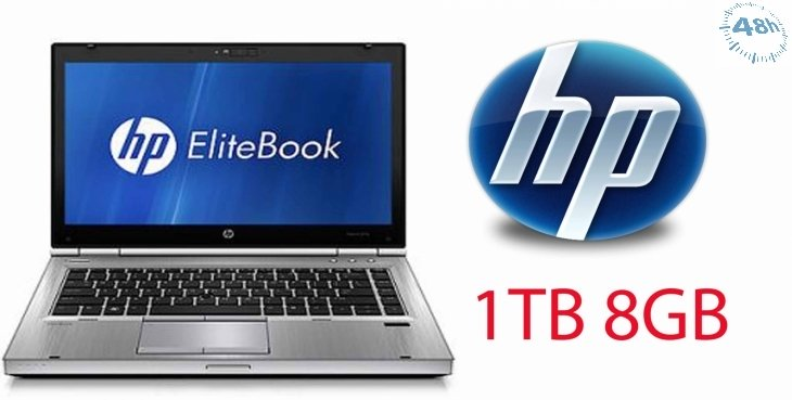 HP EliteBook 8470p i5-3320M 3.3 GHz MAX TURBO 14 8GB 1TBHD (NUOVO) DVD-RW- WIFI CON WINDOWS 7 O 10 PRO A 64 BIT-GARANZIA 12 MESI