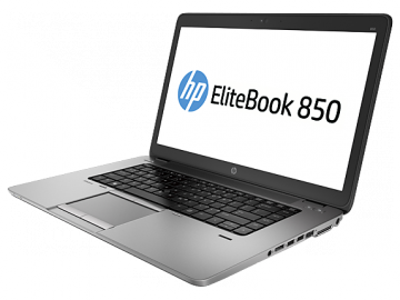 "HP EliteBook 850 G1 1.9GHz i5-4300U 4° GENERAZIONE 15.6"" 8GB-180 SSD –WEBCAM-WIFI-WINDOWS 7-10 PRO"