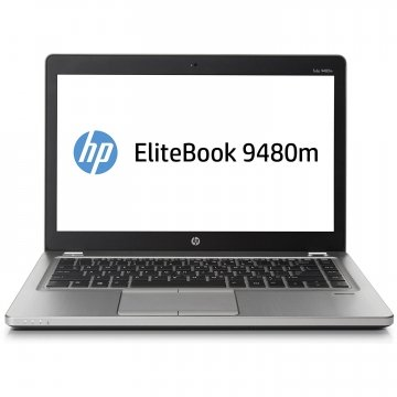 "HP EliteBook Folio 9480m 14"" LED Ultrabook - Intel Core i7-4600U Dual-core (2 Core) 2.10 GHz 8GB 500HD– Platinum-GARANZIA 12 MESI"