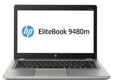 "HP EliteBook Folio 9480m 2GHz i5-4310U 4 GE 8GB-256SSD 14""  Argento Computer portatile-WINDOWS 10 GARANZIA 12 MESI"