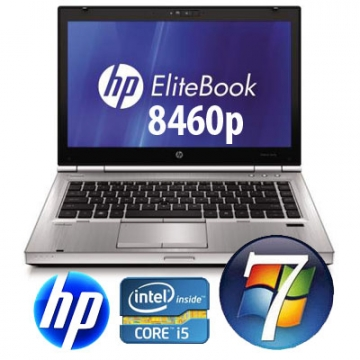 "HP Elitebook 8460p Core i5 2.5GHz 6 Gb 500 Gb DVD±RW 14 WIDESCREEN ""  Windows 7 Professional"