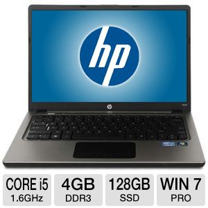 HP Folio 13-2000 13-Inch LED Ultrabook - Core i5 i5-2467M 4G RAM 128G SSD Windows 7 Professional