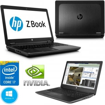 "HP Notebook Zbook G2-17 POLLICI- Mobile Workstation CPU i7 - 4810MQ SSD 256GB + HDD 1TB - RAM 16 GB - 17,3"" FULLHD DREAMVISION - NVIDIA QUADRO K2200M 2GB  DVD-RW WINDOWS 10 PRO 64 BIT"