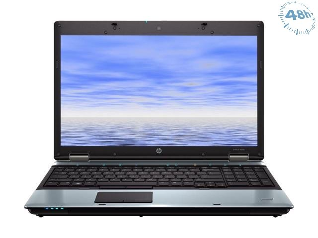 "HP ProBook 6555b AMD Phenom II P520 2.8GHz N620 15.6"" 4GB-500 HD DVD-RW –WIFI-–WINDOWS 7-10 PRO"