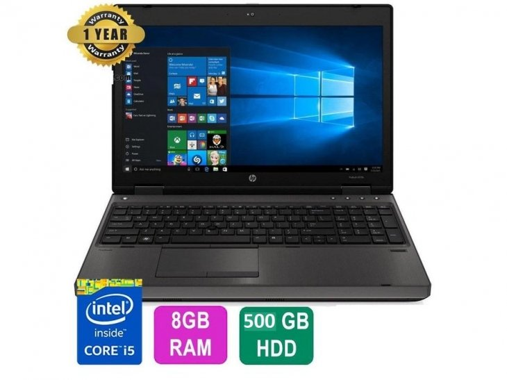"HP ProBook 6570b 15.6""Notebook PC ProBook; 2.8 MHz; Intel Core i5; i5-3210-3310-60m; 8 GB  500 HD -WINDWOS 10 PRO-GARANZIA 12 MESI"