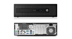 HP ProDesk 600 G2 SFF 3.2GHz i5-6500 8192 RAM 256SSD SFF-WINDOWS 10 PRO