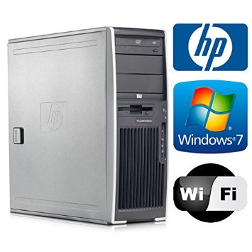 HP WORKSTATION XW4400 CORE 2 DUO E6700 2,66 GHZ -4GB-2 HD 1°250HD 2° 500HD –DVD-