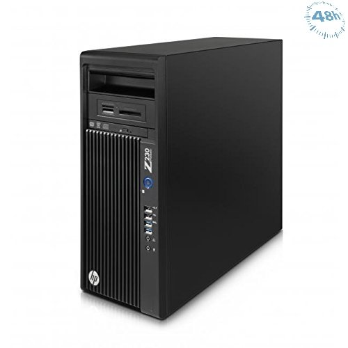 HP Z230 SFF Workstation - 1 x Intel Xeon E3-1226 v3 3.30 GHz – 8 GB RAM –256 SSD SAMSUNG  - DVD-RW - HD Graphics 2 GB- Windows 7 Professional 64-bit