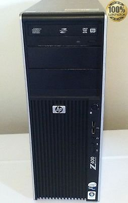 HP Z400 Workstation Xeon Quad-Core Processor W3520 2.66 GHz 500GB 8GB-2GB SCHEDA VIDEO DEDICATA –WINDOWS 7PRO-WIFI