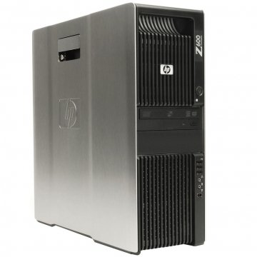 HP Z600 Workstation 2x Xeon E5620 2.4GHz 8GB DVD-RW 1TB 2GB SCHEDA VIDEO DEDICATA ASUS CON  Win7Pro