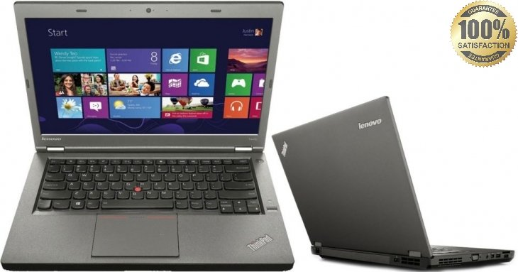 "Lenovo T440p Core I5-4300M 2.6 Ghz 8GB 500 GB DVD/RW 14.1"" Webcam Win 7 Pro"