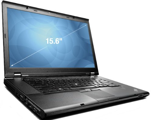 "Lenovo ThinkPad W530 2GHz i7-2630QM 15.6"" 1600 x 900Pixel Nero Workstation mobile 6 GB-500 HD WINDOWS 7-10 PRO-GARANZIA 12 MESI"