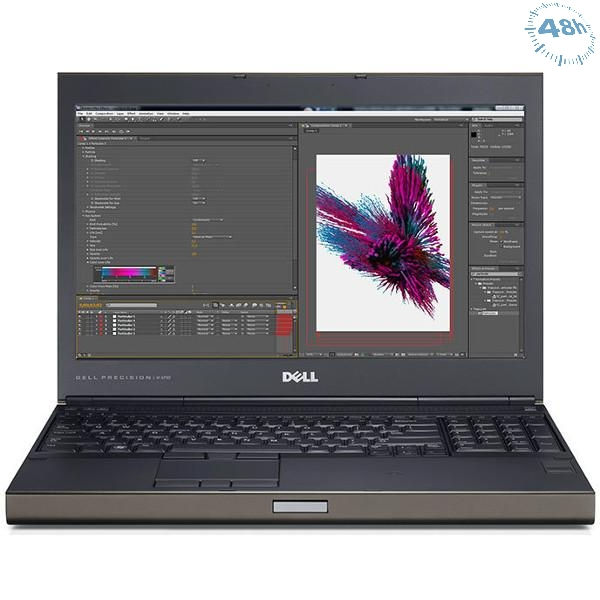 "Mobile Workstation Dell Precision M4700Core i5-3340M 16Gb 2*8gb  256 SSD 15.6"" nVIDIA Quadro K1000M da 2GB  Windows 7/10 Pro"