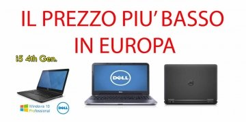"Notebook Dell Latitude E5440 Core i5-4300U 4Gb 320Gb 14.1"" WEBCAM-WIFI-Windows 7- 10 Professional (GRADO B) batteria inclusa"