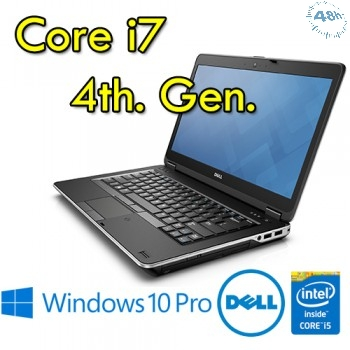 "Notebook Dell Latitude E6440 Core i7-4600M 8Gb 320Gb 14.1"" DVD-RW WEBCAM Windows 10 Professional"