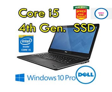 "Notebook Dell Latitude E7440 Core i5-4300-10U 4Gb 128Gb SSD 14.1"" WEBCAM Windows 10"