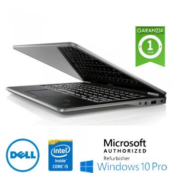 "Notebook Dell Latitude E7440 Core i5-4300U 4Gb 500Gb  14.1"" WEBCAM Windows 10 –Garanzia 12 mesi"