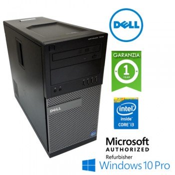 PC Dell Optiplex 7010 DT Core i3-3240 3.4GHz 4Gb 320Gb DVD-WIFI USB 150Mps  Windows 10 Professional DESKTOP-SFF