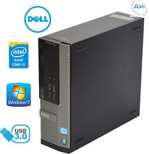 PC Dell Optiplex 7010 DT Core i3-3240 3.4GHz 4Gb 500Gb DVDRW-WIFI 150MPS  Windows 7-10 pro A 64 bit -Garanzia 12 mesi