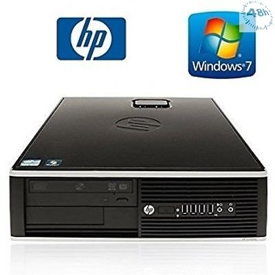 PC HP Compaq 6200 Pro SFF Core i5-2500 3.3 GHz 4Gb Ram 500Gb WIFI USB DA 1500 Mps -DVD-RW Windows 7-10 Professional-GARANZIA