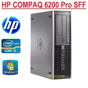 PC HP Compaq 6200 Pro SFF Core i5-2500 3.7 GHz max turbo 4Gb Ram 250Gb  DVD-RW GARANZIA