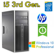 PC HP Compaq 8300 Elite Core i5-3470 3.2GHz 4Gb Ram 1TB DVD/RW TOWER –WIFI -Windows 10 Professional