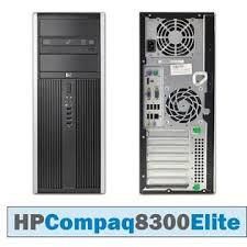PC HP Compaq 8300 TOWER Elite Core i7-3770 3.4GHz 6 Gb Ram 500Gb DVD-RW WIFI USB 150 MPS Windows 10 Professional