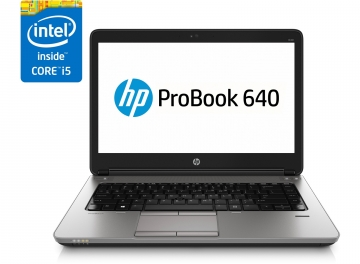 Probook 640 G2 CORE I5 6300U 2800 GHZ MAX TURBO 8192 RAM 256SSD DVD-RW WEBCAM -GARANZIA