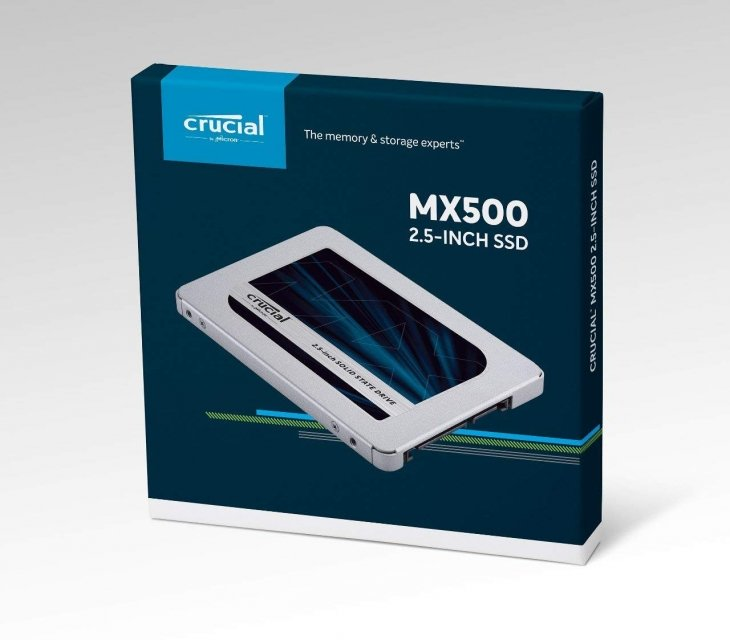 "SSD-SOLID STATE DISK 2.5"" 1TB SATA3 CRUCIAL MX500 CT1000MX500SSD1 READ:560MB/S-WRITE:510MB/S"