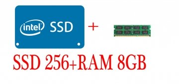 UPGRADE SSD 256+8GB DDR3  ( INSTALLATI )