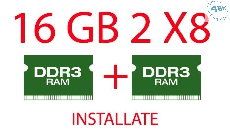 16GB DI RAM DDR3 PER NOTEBOOK INSTALLATE