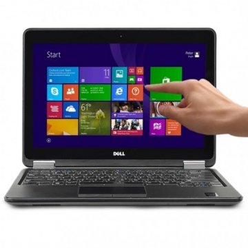 "DELL Latitude E7240 2.1GHz i7-4600U 12.5"" 8GB 512 MINI SSD (TOUCH SCREEN )  WINDOWS 7-10 PRO GARANZIA 12 MESI"