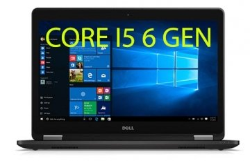 "DELL Latitude E7470 3.0GHz max turbo i5-6300U 8GB-256 SSD FULL HD 14"" 1920 x 1080pixels Windows 10 pro"