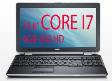 "Dell Latitude E6520 - 15.6"" - Core i7 2620-40M - 2.7 ghz Windows 10 Pro 64-bit - 4 GB RAM - 500 GB  GARANZIA 12 MESI"