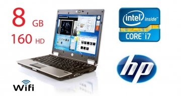 "HP EliteBook 2540p Intel i7 Dual Core 2100 MHz 160 HD 8 GB DDR3  Wireless WI-FI 12.0"" WideScreen LCD Windows 10"